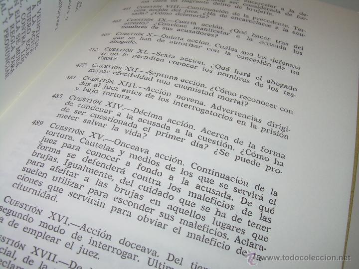 Libros antiguos: EL MARTILLO DE LAS BRUJAS. - Foto 16 - 50725315