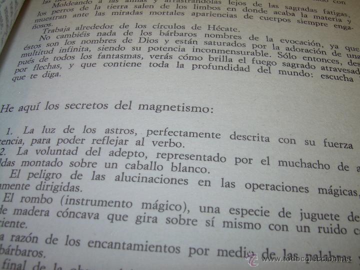 Libros antiguos: MANUAL DE LA MAGIA Y DE LA BRUJERIA.....CON GRABADOS. - Foto 6 - 50725444