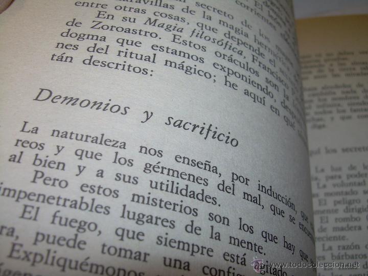 Libros antiguos: MANUAL DE LA MAGIA Y DE LA BRUJERIA.....CON GRABADOS. - Foto 8 - 50725444