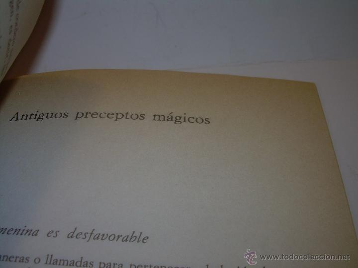 Libros antiguos: MANUAL DE LA MAGIA Y DE LA BRUJERIA.....CON GRABADOS. - Foto 10 - 50725444