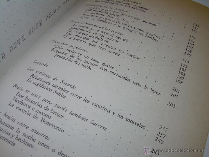 Libros antiguos: MANUAL DE LA MAGIA Y DE LA BRUJERIA.....CON GRABADOS. - Foto 18 - 50725444