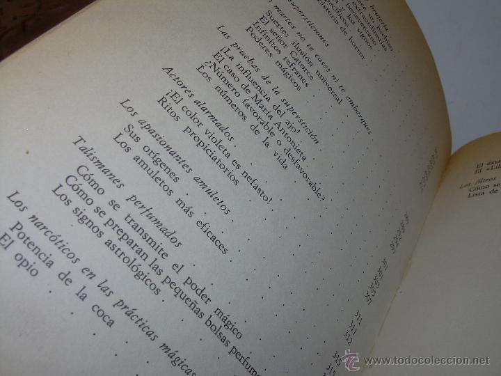 Libros antiguos: MANUAL DE LA MAGIA Y DE LA BRUJERIA.....CON GRABADOS. - Foto 19 - 50725444