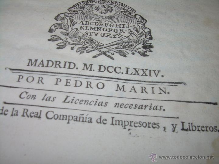 Libros antiguos: LIBRO TAPAS DE PIEL.....AÑO 1.774...BENITO FEYJOO.....VAMPIRISMO, MASONERIA,. ETC. - Foto 4 - 50944368