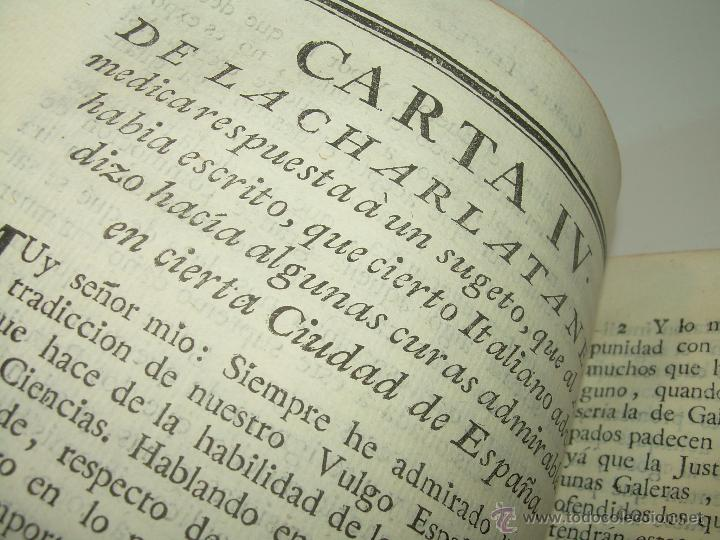 Libros antiguos: LIBRO TAPAS DE PIEL.....AÑO 1.774...BENITO FEYJOO.....VAMPIRISMO, MASONERIA,. ETC. - Foto 10 - 50944368