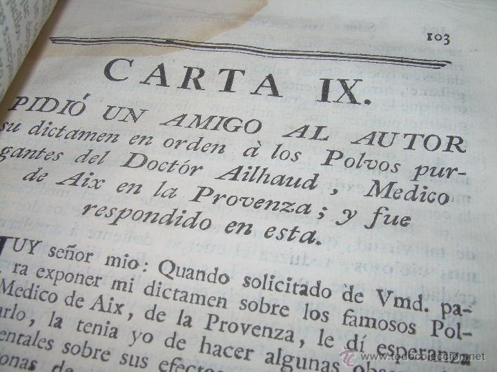 Libros antiguos: LIBRO TAPAS DE PIEL.....AÑO 1.774...BENITO FEYJOO.....VAMPIRISMO, MASONERIA,. ETC. - Foto 13 - 50944368