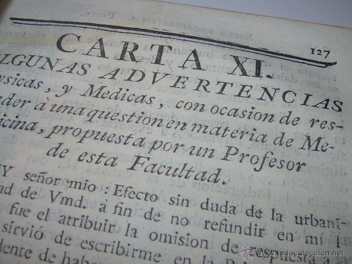 Libros antiguos: LIBRO TAPAS DE PIEL.....AÑO 1.774...BENITO FEYJOO.....VAMPIRISMO, MASONERIA, EXCORCISMOS. ETC. - Foto 14 - 50944368