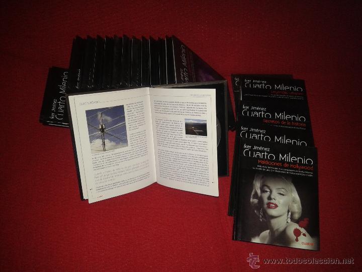 Libros + dvd cuarto milenio de cuatro de iker j - Vendido en Venta ...