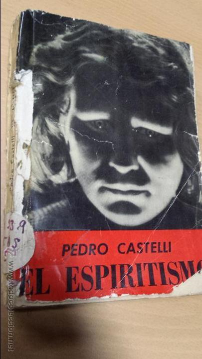 ANTIGUO LIBRO ESPIRITISMO (Libros Antiguos, Raros y Curiosos - Parapsicología y Esoterismo)