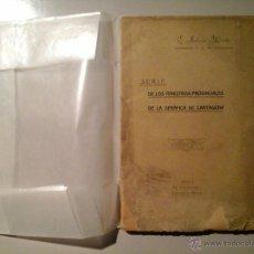 Alte Bücher - P. ANTONIO MARTIN. SERIE DE LOS MINISTROS PROVINCIALES DE LA SERÁFICA DE CARTAGENA.1ªED 1915.MURCIA - 53037027