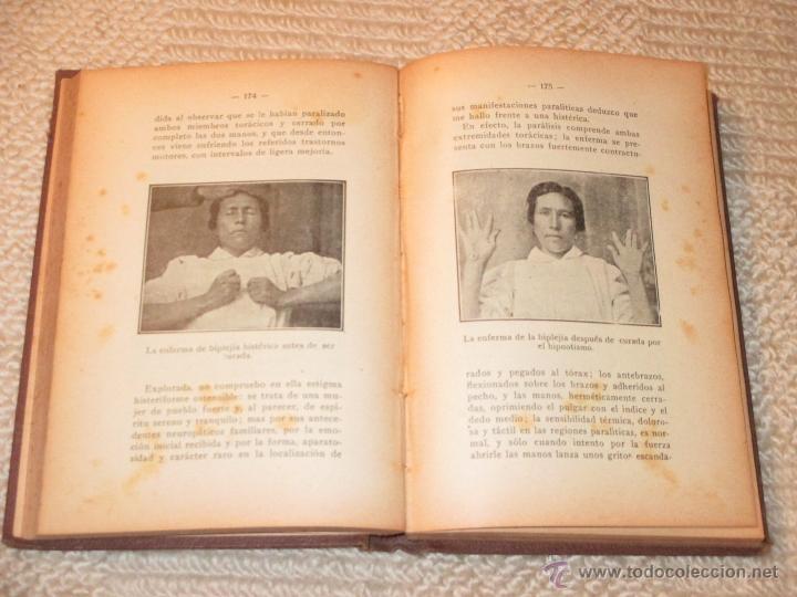 Libros antiguos: Como se hipnotiza. Manual práctico de psicoterapia hipnoticosugestiva, Julio Camino 1928 dedicatoria - Foto 5 - 53287577