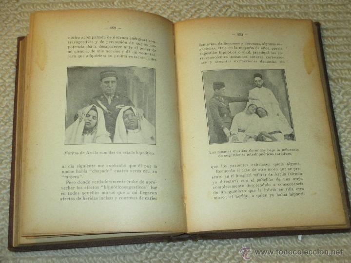 Libros antiguos: Como se hipnotiza. Manual práctico de psicoterapia hipnoticosugestiva, Julio Camino 1928 dedicatoria - Foto 8 - 53287577