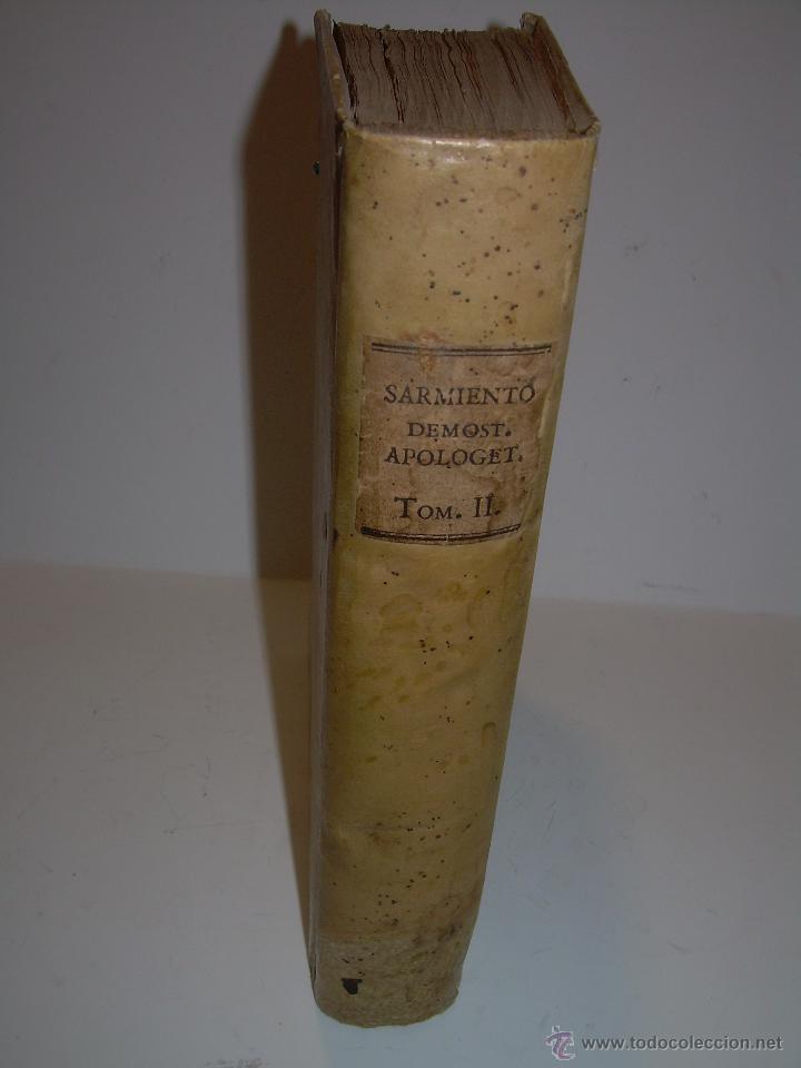 Libros antiguos: LIBRO TAPAS PERGAMINO...1.787....DUENDES,ESPIRITUS ,ZAHORIES,PIEDRA FILOSOFAL,DEMONIOS INCUBOS - Foto 2 - 53374570