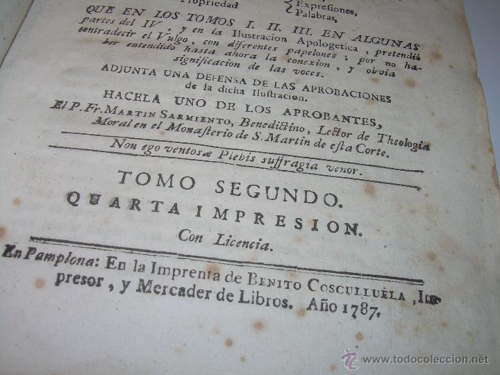 Libros antiguos: LIBRO TAPAS PERGAMINO...1.787....DUENDES,ESPIRITUS ,ZAHORIES,PIEDRA FILOSOFAL,DEMONIOS INCUBOS - Foto 5 - 53374570
