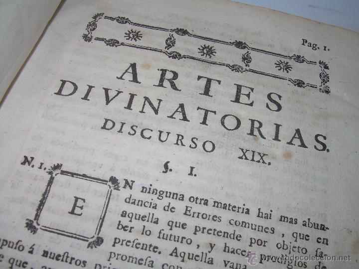 Libros antiguos: LIBRO TAPAS PERGAMINO...1.787....DUENDES,ESPIRITUS ,ZAHORIES,PIEDRA FILOSOFAL,DEMONIOS INCUBOS - Foto 6 - 53374570