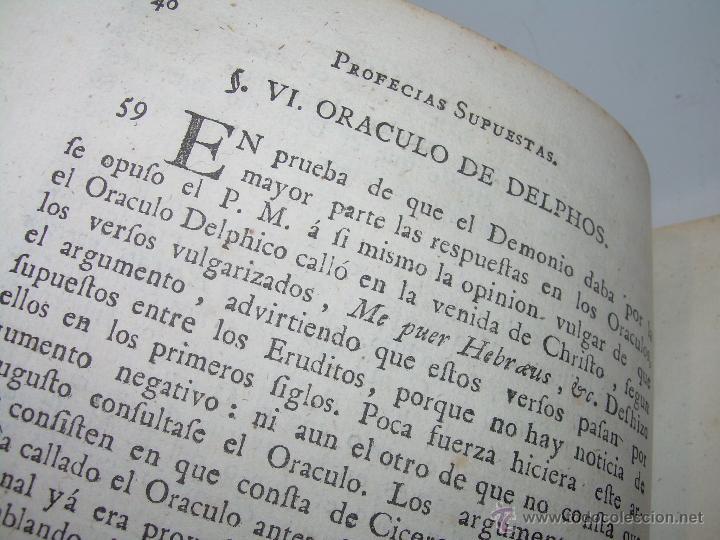 Libros antiguos: LIBRO TAPAS PERGAMINO...1.787....DUENDES,ESPIRITUS ,ZAHORIES,PIEDRA FILOSOFAL,DEMONIOS INCUBOS - Foto 8 - 53374570