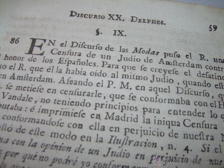 Libros antiguos: LIBRO TAPAS PERGAMINO...1.787....DUENDES,ESPIRITUS ,ZAHORIES,PIEDRA FILOSOFAL,DEMONIOS INCUBOS - Foto 9 - 53374570