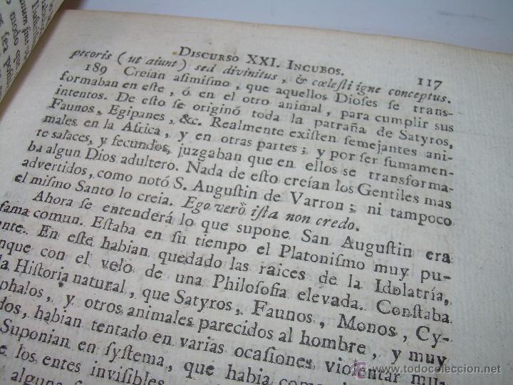 Libros antiguos: LIBRO TAPAS PERGAMINO...1.787....DUENDES,ESPIRITUS ,ZAHORIES,PIEDRA FILOSOFAL,DEMONIOS INCUBOS - Foto 13 - 53374570