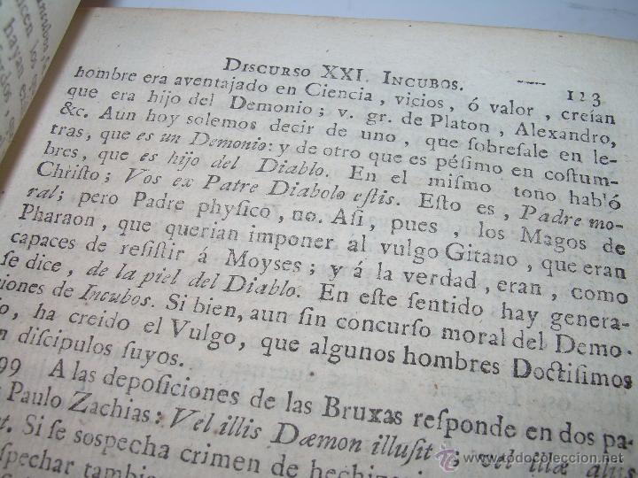 Libros antiguos: LIBRO TAPAS PERGAMINO...1.787....DUENDES,ESPIRITUS ,ZAHORIES,PIEDRA FILOSOFAL,DEMONIOS INCUBOS - Foto 14 - 53374570