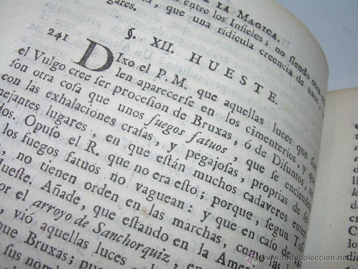 Libros antiguos: LIBRO TAPAS PERGAMINO...1.787....DUENDES,ESPIRITUS ,ZAHORIES,PIEDRA FILOSOFAL,DEMONIOS INCUBOS - Foto 17 - 53374570