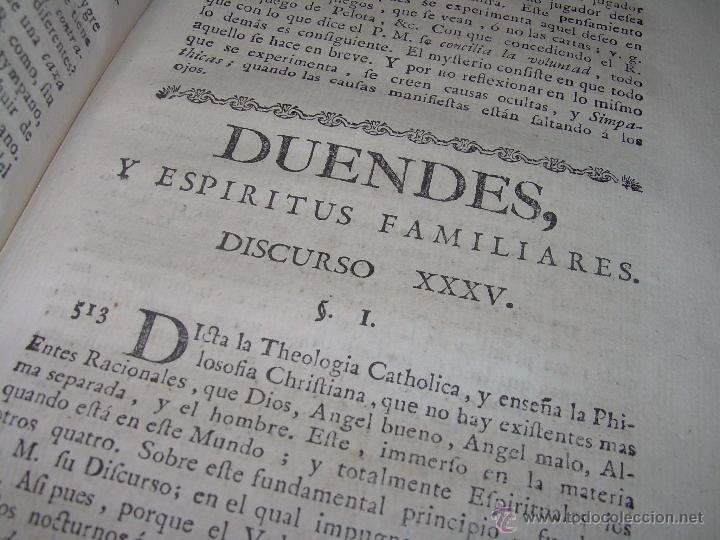 Libros antiguos: LIBRO TAPAS PERGAMINO...1.787....DUENDES,ESPIRITUS ,ZAHORIES,PIEDRA FILOSOFAL,DEMONIOS INCUBOS - Foto 27 - 53374570