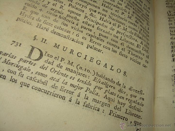 Libros antiguos: LIBRO TAPAS PERGAMINO...1.787....DUENDES,ESPIRITUS ,ZAHORIES,PIEDRA FILOSOFAL,DEMONIOS INCUBOS - Foto 33 - 53374570