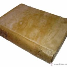 Libros antiguos: LIBRO TAPAS PERGAMINO...1.787....DUENDES,ESPIRITUS ,ZAHORIES,PIEDRA FILOSOFAL,DEMONIOS INCUBOS. Lote 53374570