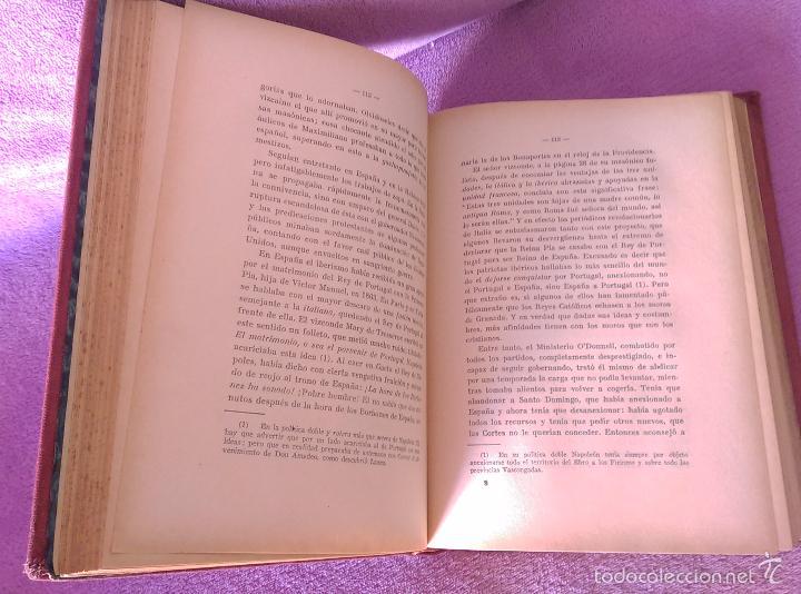 Libros antiguos: HISTORIA DE LAS SOCIEDADES SECRETAS, VICENTE DE LA FUENTE 1933 - Foto 3 - 56005511