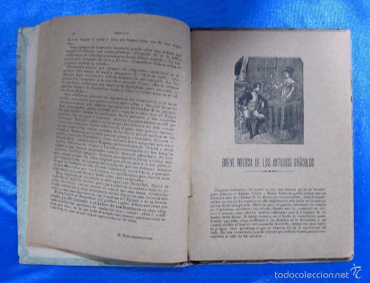 Libros antiguos: ORÁCULO O SEA, EL LIBRO DE LOS DESTINOS CON TABLA DE PREDICCIONES. VENDE BALDOMERO GUAL, 1889. - Foto 4 - 57010238