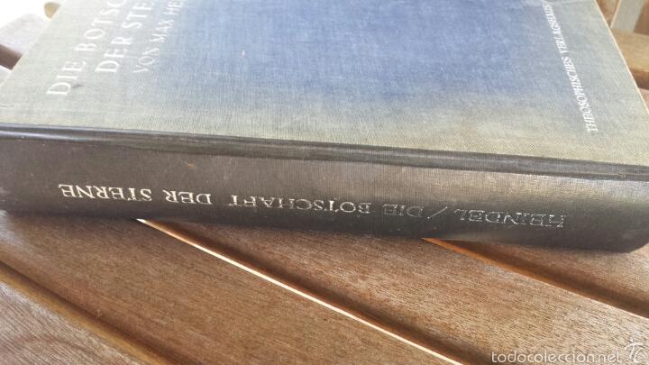 Libros antiguos: DIE BOTSCHAFT DER STERNE- VON MAX HEINDEL 1921. - Foto 2 - 57470404