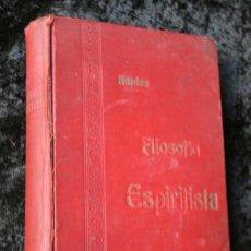 Libros antiguos: 7 OBRAS DE ALLAN KARDEC - 1888 - 1905 - ESPIRITUSMO - ESPIRITA - EST. TIPOGRAFICO TORRENTS Y CORAL. Lote 57737079