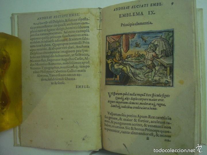 MAGNÍFICA EDICIÓN RENACENTISTA EMBLEMATA ANDREAE ALCIATI.1567. 195 GRABADOS (Libros Antiguos, Raros y Curiosos - Parapsicología y Esoterismo)