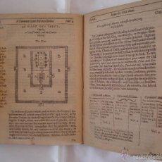 Libros antiguos: MEDE. THE KEY OF THE REVELATION.1650. VISIONES,CÁBALA Y INTERPRETACIÓN APOCALIPSIS. Lote 57990601