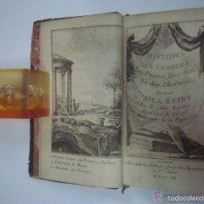 Libros antiguos: ABBÉ BALLET. HISTOIRE DES TEMPLES DES PAYENS,DES JUIFS,ET DES CHRETIENS.1760.1A ED.. Lote 57992440