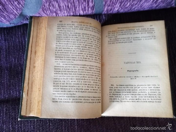 Libros antiguos: EL LIBRO DE LOS MEDIUMS, GUIA, ALAN KARDEC 1883 - Foto 3 - 58459057