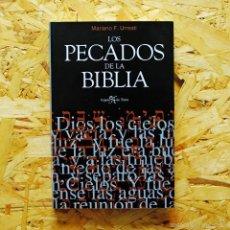 Libros antiguos: LOS PECADOS DE LA BIBLIA, MARIANO FERNÁNDEZ URRESTI. Lote 221551456