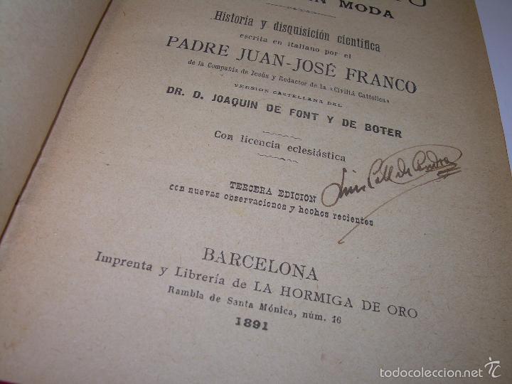 Libros antiguos: EL HIPNOTISMO PUESTO EN MODA.....AÑO..1.891 - Foto 4 - 60180015