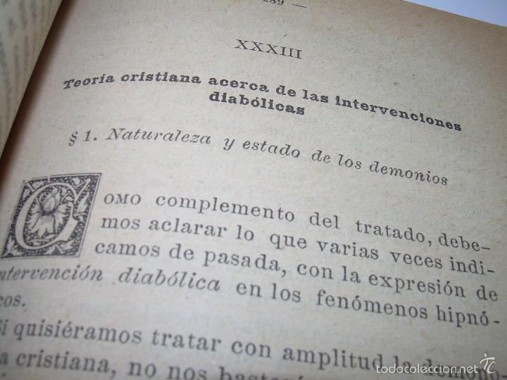 Libros antiguos: EL HIPNOTISMO PUESTO EN MODA.....AÑO..1.891 - Foto 7 - 60180015