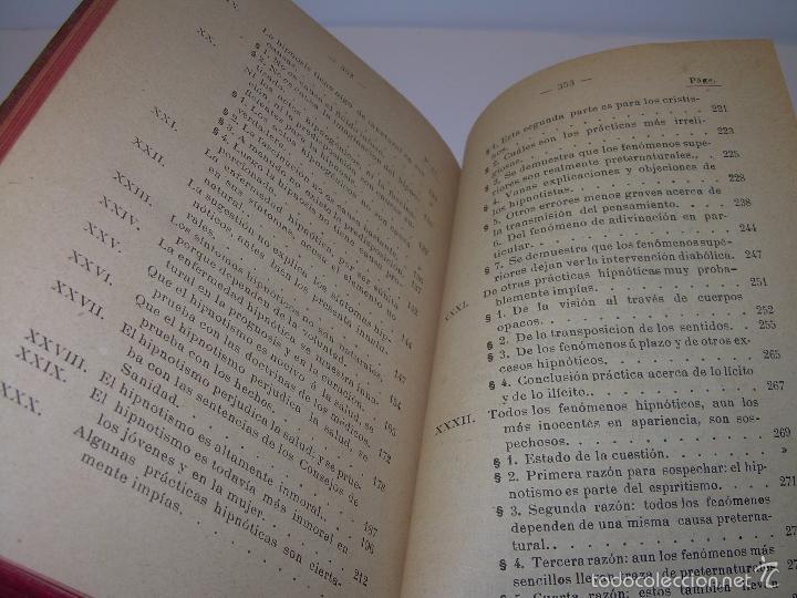Libros antiguos: EL HIPNOTISMO PUESTO EN MODA.....AÑO..1.891 - Foto 10 - 60180015