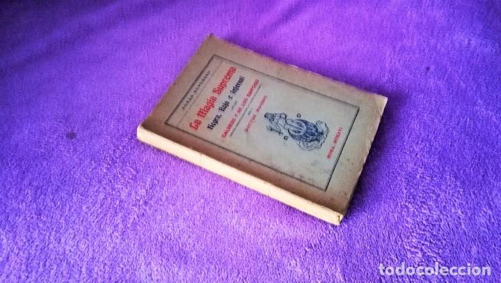 LA MAGIA SUPREMA NEGRA, ROJA E INFERNAL, JONAS SUFURINO, DOCTOR MOORNE 1916 (Libros Antiguos, Raros y Curiosos - Parapsicología y Esoterismo)