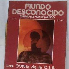 Libros antiguos: MUNDO DESCONOCIDO. MISTERIOS DE NUESTRO MUNDO.. Lote 80846963