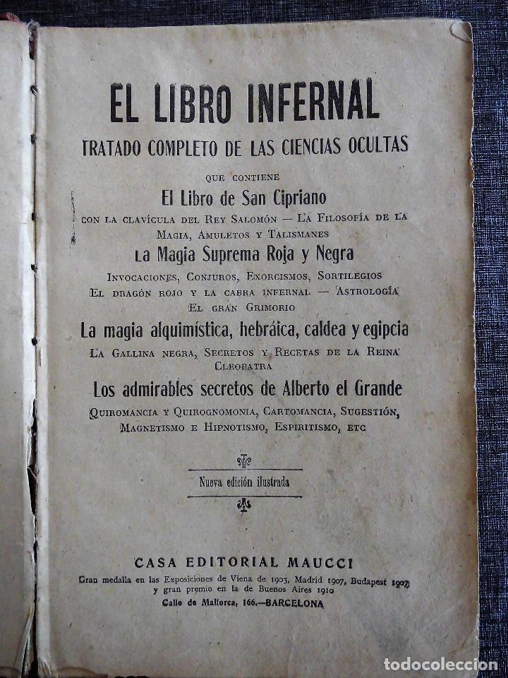 el libro infernal tratado completo de las ciencias ocultas pdf