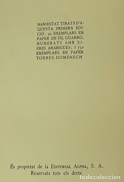 Libros antiguos: LLIBRE REVELADOR. TOMO I. ABRAAM BAR HIIA. EDIT. ALPHA. 1929. - Foto 2 - 85511140