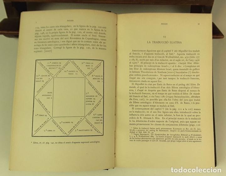 Libros antiguos: LLIBRE REVELADOR. TOMO I. ABRAAM BAR HIIA. EDIT. ALPHA. 1929. - Foto 4 - 85511140