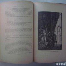 Libros antiguos: RARO LIBRO: LOS ESPIRITUS DE LAS TINIEBLAS. 1888.GRAN FOLIO.ILUSTRADO CON GRABADOS. Lote 87525908