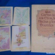 Libros antiguos: TAROT LAS CARTAS DE LOS ELFOS, LAS HADAS Y LOS DUENDES:TIZIANA MATTERA. Lote 95790035