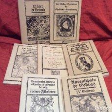 Libros antiguos: BIBLIOTECA ESOTERICA SIETE LIBROS. Lote 95837955