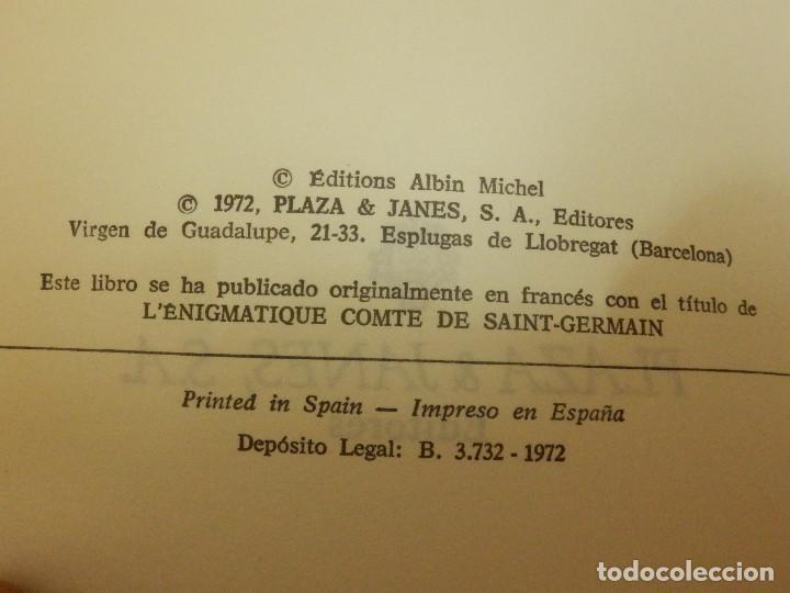 Libros antiguos: LIBRO - COLECCIÓN OTROS MUNDOS - EL ENIGMÁTICO CONDE SAINT GERMAIN - PIER CERIA/ETHUIN-PLAZA & JANES - Foto 3 - 139075657