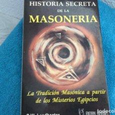Libros antiguos: HISTORIA SECRETA DE LA MASONERIA LEADBEATER. Lote 101196915