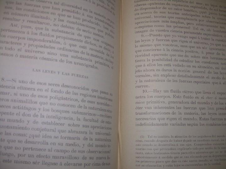 Libros antiguos: EL GENESIS DE LOS MILAGROS Y LAS PREDICCIONES SEGUN EL ESPIRITISMO..AÑO 1904....ALLAN KARDEC - Foto 4 - 107256987