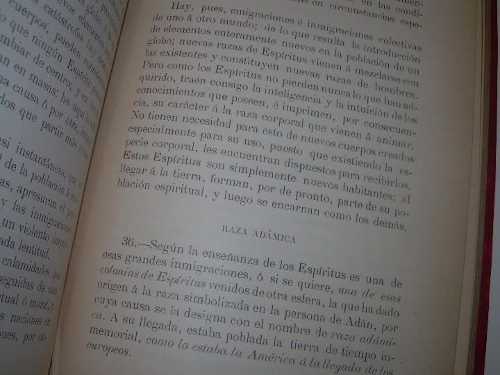Libros antiguos: EL GENESIS DE LOS MILAGROS Y LAS PREDICCIONES SEGUN EL ESPIRITISMO..AÑO 1904....ALLAN KARDEC - Foto 7 - 107256987